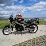 Moto y permiso de A2